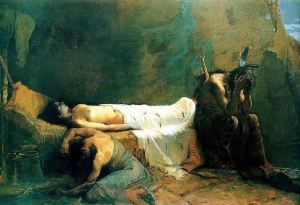 Death of Minnehaha - William de Leftwich Dodge