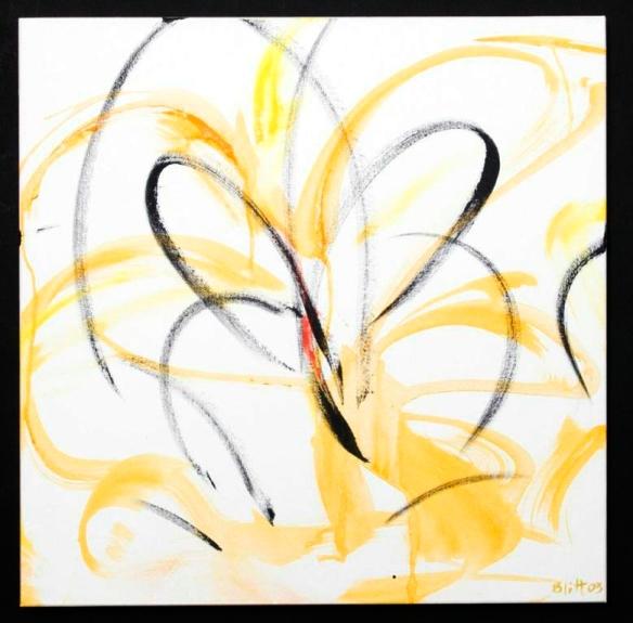 Springtime Exstasy V, 2003.0015, oil on canvas, 24x24