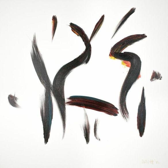 Stravinsky, 2013.005, acrylic on canvas, 36x36