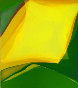 Virginia Maitland - Yellow Dawn 54x48; Courtesy The Sandra Phillips Gallery