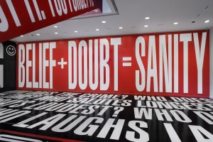Barbara Kruger at the Hirshhorn