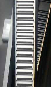 CAC staircase, building by Zaha Hadid