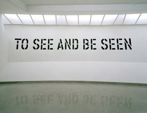 Lawrence Weiner at the Guggenheim