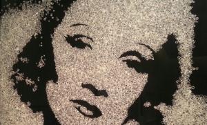 Vic Muniz, Marlene Dietrich 2005
