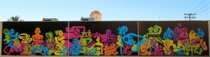 """Murals in La Jolla """"53 Women"""" by Ryan McGuinness"""
