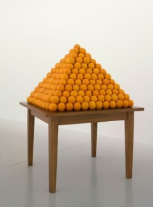 Peter Coffin (Orange Pyramid)