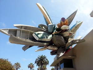 Pleasure Point by Nancy Rubins at MCASD La Jolla