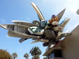 Pleasure Point by Nancy Rubins at MCASD La Jolla