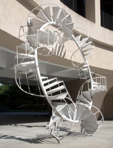 Peter Coffin, 2007 (Spiral Staircase) at Hirshhorn