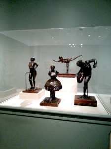 Degas sculptures at VFMA