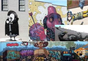 Murals in Richmond