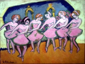 Six Dancers By Ernst Ludwig Kirchner at VMFA