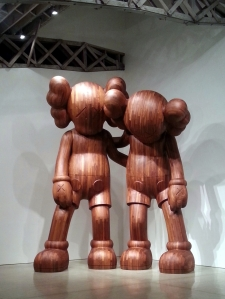 Along the Way by Kaws at Mary Boone Chelsea
