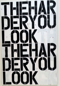 Christopher Wool - The Harder You Look