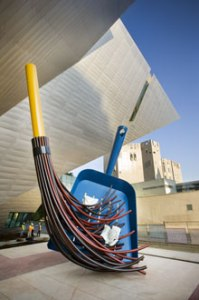 Claes Oldenburg and Coosje Van Bruggen, Big Sweep 2006 Denver Art Museum