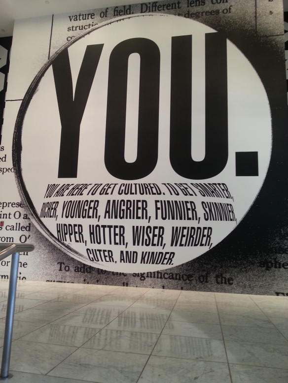 Barbara Kruger at Hammer Museum