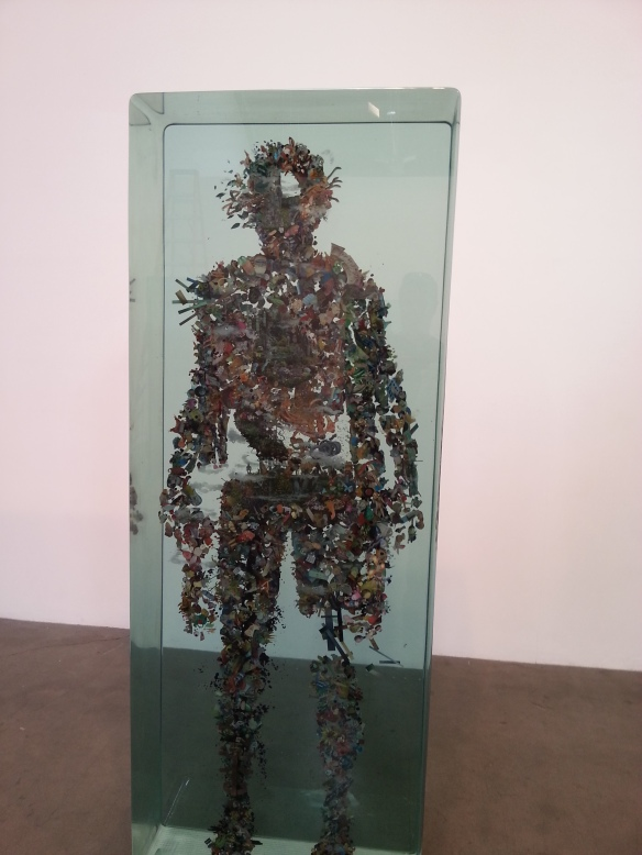 Dustin Yellin at Richard Heller