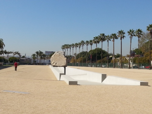 Levitated Mass by Michael Heizer